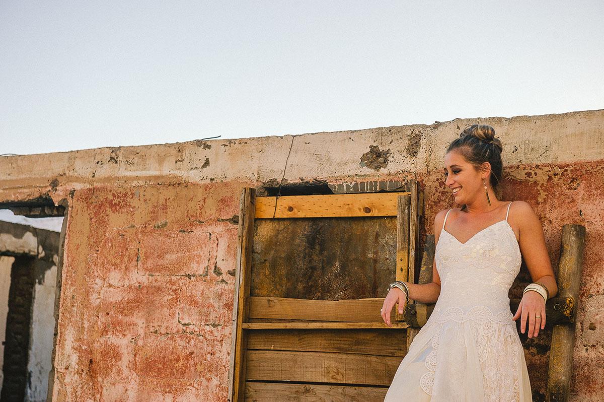 vestido de novia campestre