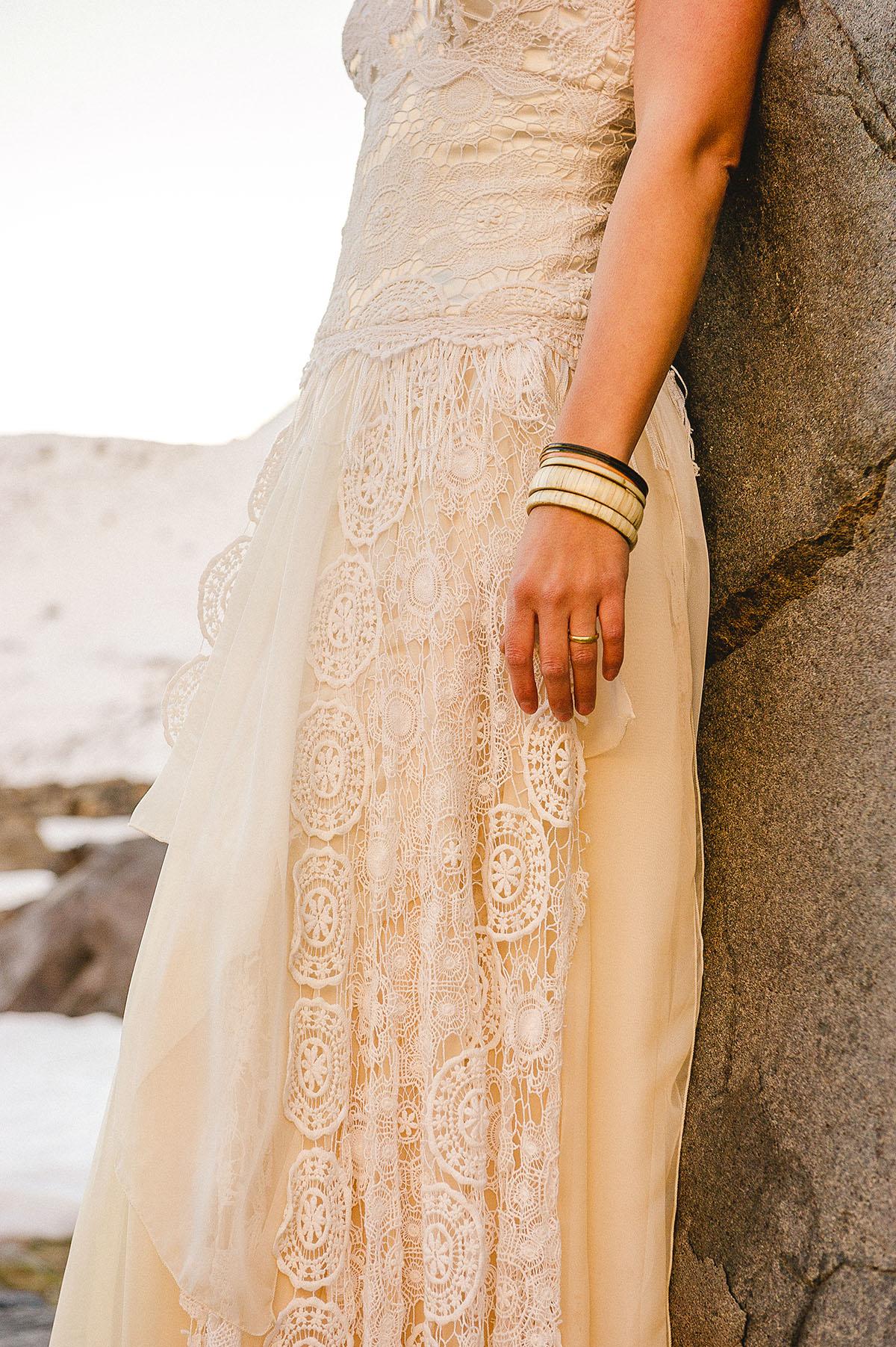 vestido de novia marfil